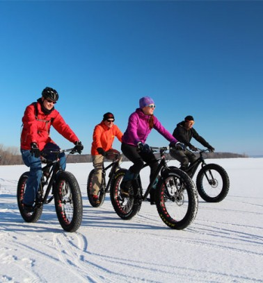 Fat Bike - Centre national de cyclisme de Bromont
